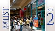 No. 2: Polaris Fashion Place Where: Columbus Gross leasable square feet: 1.6 million Number of tenants: 155