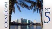 No. 5: FloridaCorporate tax rank: 13Individual income tax rank: 1