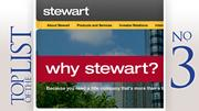 No. 3: Stewart Title Company Columbus Where: Westerville Year founded: 1997 2010 revenue in Central Ohio: $3.6 million