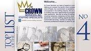 No. 4: Crown Services Inc.Location: Columbus2011 company revenue: $88.2 million