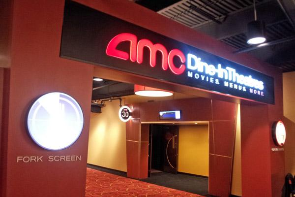 AMC has added its Dine-In Theatre option at 13 screens at Easton Town Center.