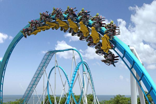 Cedar Point opened Saturday with its newest attraction, the GateKeeper roller coaster.