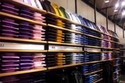 The men's section also includes a large selection of 'extra slim' shirts.