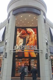 If you're interested in checking out the new Express store, it's in the north district at Easton Town Center.