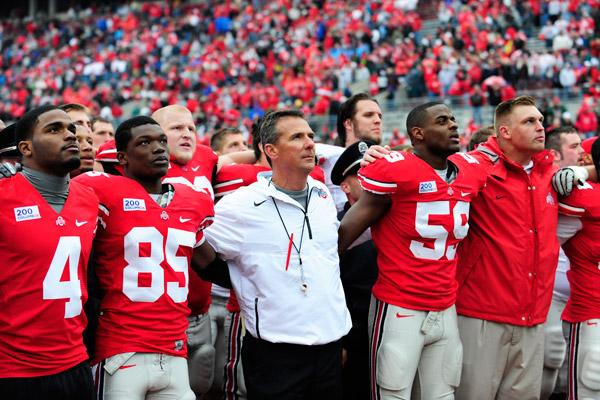 Ohio State will play in the Big Ten's new East football division beginning in 2014.