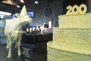 1,900: Pounds of butter used in the Butter Cow.
