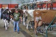 612 million: Gallons of milk Ohio farmers produce each year.
