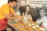 98: Number of years Schmidt's cream puffs have been at the fair.