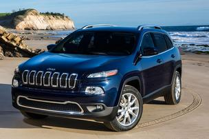 Jeep released the first images of its 2014 Cherokee.