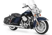 """The """"regal"""" Road King Classic is aimed at long-haul rides with extra power and comfort, the company says. It sells for $19,599."""