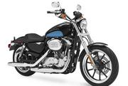"""The Sportster Superlow, starting at $7,999, promises """"cozy cruising position and easy handling,"""" the company says."""