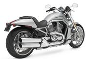 The 10th Anniversary edition of the V-Rod, which represented a break from traditional Harley-Davidson styling, starts at $15,999.