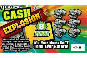 Ohio Lottery ticket