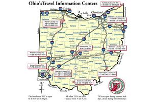 The Ohio Department of Transportation is cutting its network of Travel Information Centers to save money.