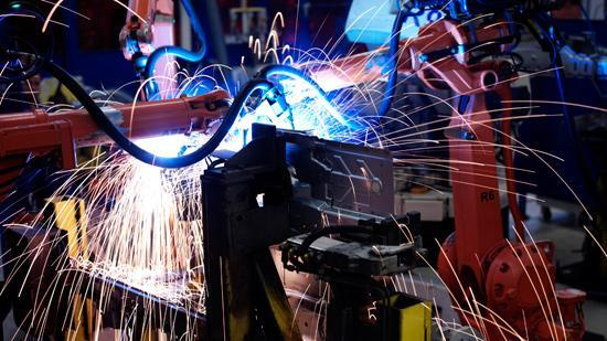 Alaska's decline in manufacturing jobs was the smallest at 1.6 percent, while Nevada's was the worst at 26.0 percent.