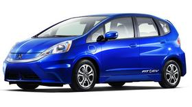 The Honda Fit electric vehicle will be among those offered through Zipcar's service.