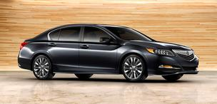 The RLX sedan will replace the RL as Acura's biggest luxury sedan.