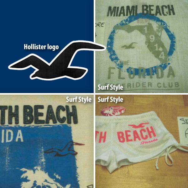 Abercrombie & Fitch is alleging Surf Style is using its gull logo from its Hollister chain without permission.