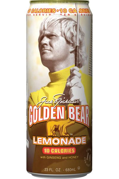 The Jack Nicklaus Golden Bear line of lemonade now will come in a 10-calorie option.