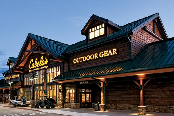 Cabela's has been building smaller stores in recent years, and says its planned Polaris outlet will be similar to this one in Allen, Texas.