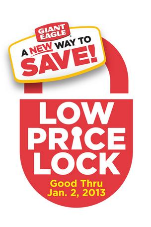 Giant Eagle Low Price Lock