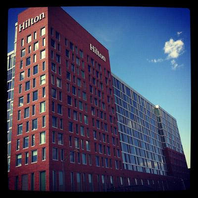 The Hilton Columbus Downtown hotel opens Friday, Oct. 19.