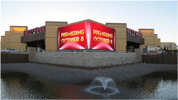 Hollywood Casino Columbus had its final full-scale test run Wednesday ahead of its Oct. 8 grand opening.