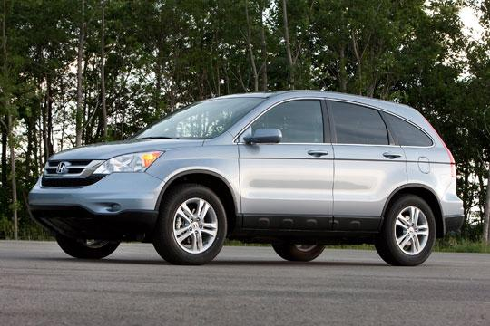 All of the Hondas and Acuras assembled in Marysville and East Liberty, including the CR-V, are  expected to return to pre-earthquake production in the coming months.