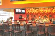 The bar area at Inferno Burger in Pickerington.