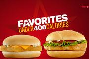 No. 6: McDonald's promoting Under 400 Calories menu for fast-food fans watching weightPublished: July 24Click here to read.