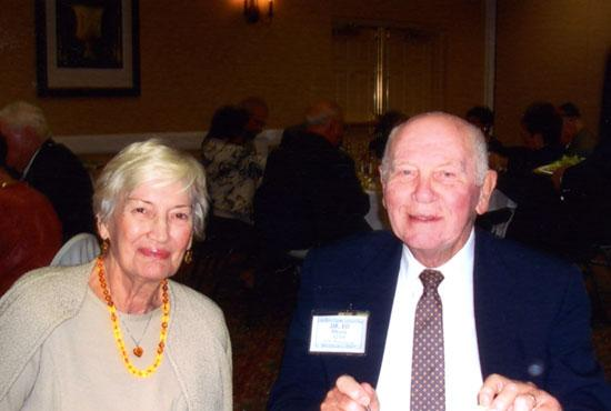 Edward and Eleanor Morris have pledged $1.4 million from their estate to Ohio Wesleyan University.