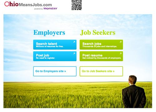 Ohio is expanding its OhioMeansJobs website partnership with Monster.com into a website for internships and a mobile app.