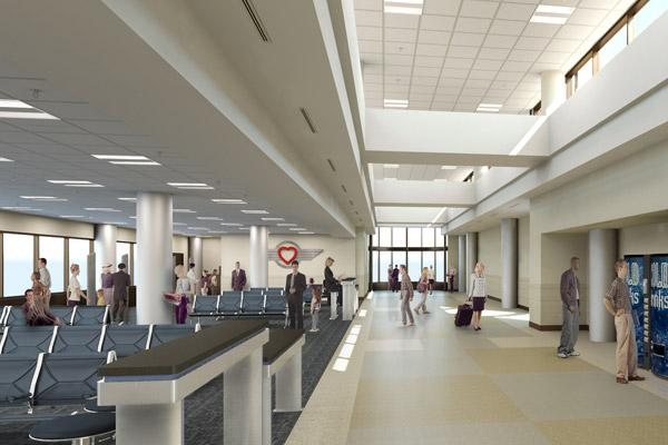 Port Columbus officials are planning a modernization of Concourse A and other areas.