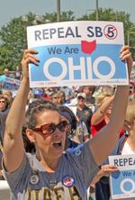 Poll: Support fading for Ohio S.B. 5