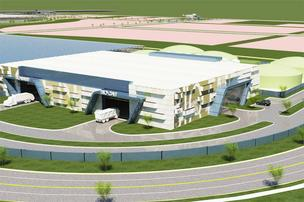 The Gemini Synergy Center is envisioned as an industrial park anchored by a trash-to-cash recycling operation.