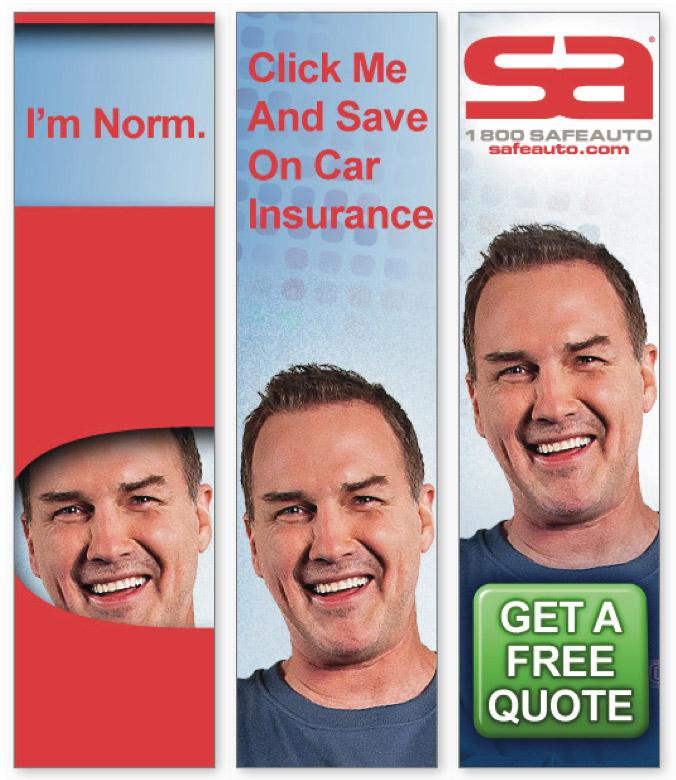 Former Saturday Night Live cast member Norm Macdonald is Safe Auto Insurance Co.'s new pitchman.