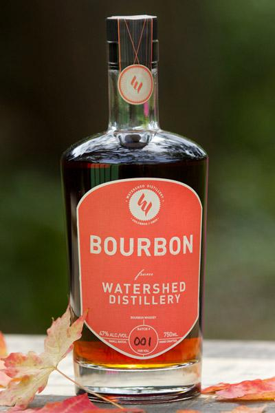Watershed's bourbon will debut on Halloween.