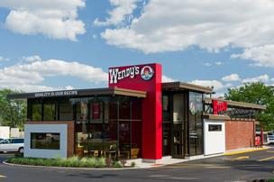 Wendy's is testing four restaurant redesigns, including this one on Bethel Road.