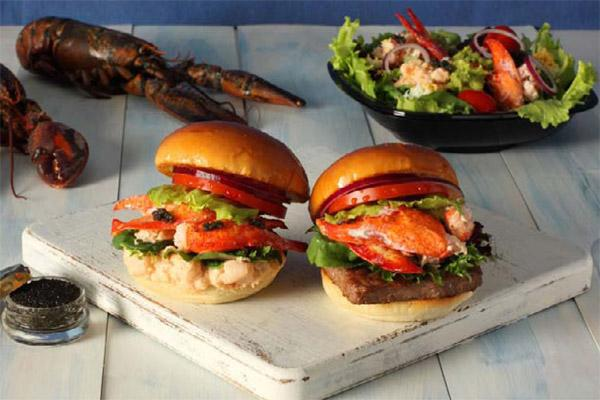 Wendy's Co. is serving up burgers topped with lobster and caviar in Japan.