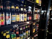 World of Beer touts it stocks as many as 500 beers in its cooler – the one at Easton larger and taller than the WOB in Columbus' Brewery District.