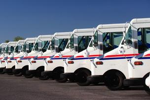 Postal Service trucks won't run Saturdays starting in August, when carriers stop mail delivery to homes and businesses.