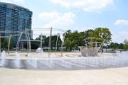 The Scioto Mile is a system of parks, streets, a bikeway, pedestrian paths, fountains and gardens along the Scioto River.