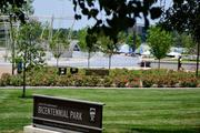 Bicentennial Park received a major upgrade as part of the $44 million Scioto Mile project.