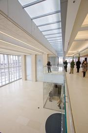 The new courthouse includes plenty of natural light among its green features.