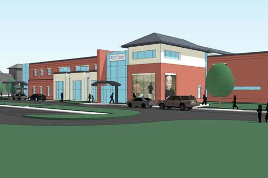 The Westerville Planning Commission told Nationwide Children's Hospital to limit window graphics of children to no more than three locations when it approved plans for a new surgery center.