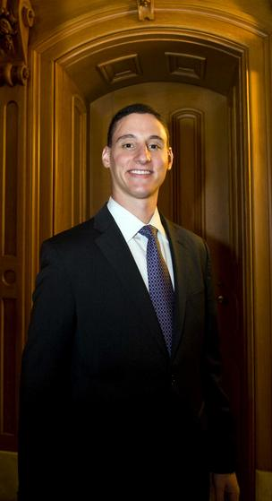 Josh Mandel is ready to step in as Ohio's next treasurer following service in the Iraq War and as a state legislator.
