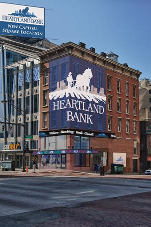 Heartland has purchased an office condominium at 101 S. High St., for its Capitol Square branch.