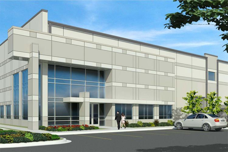 An Exxcel Project Management affiliate is building a speculative distribution center near Rickenbacker International Airport.