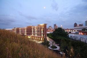 National Church Residences' Commons at Buckingham got a Platinum LEED rating.