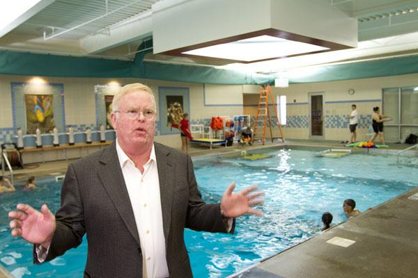 Larry Abbott's Aquatic Adventures in Hilliard offers scuba equipment and lessons in its six-lane, 25-yard, 120,000-gallon pool.